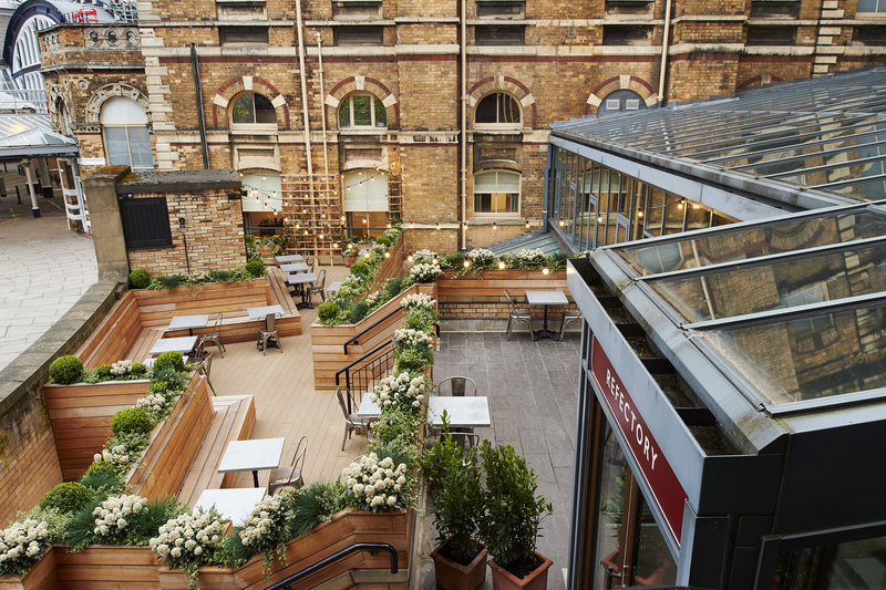 Principal York-Next door to York station our outdoor terrace ideal for drinks<br/>Image from Leonardo
