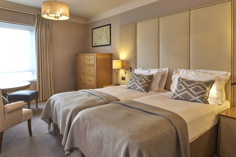 Principal York-Relax in a twin guest bedroom at The Principal York Hotel, York<br/>Image from Leonardo