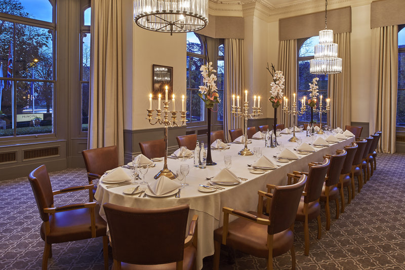 Principal York-The Ebor room is an ideal space to host a private dinner<br/>Image from Leonardo