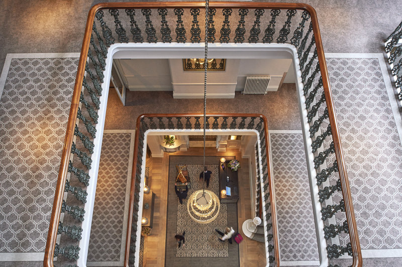 Principal York-Beautiful original feature staircase at The Principal York Hotel<br/>Image from Leonardo