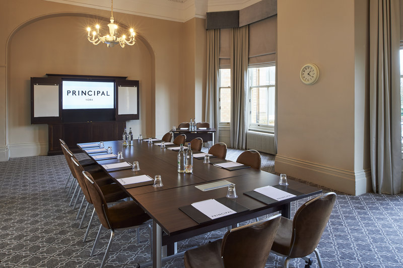 Principal York-Minster room is the ideal venue for small meeting & events in York<br/>Image from Leonardo