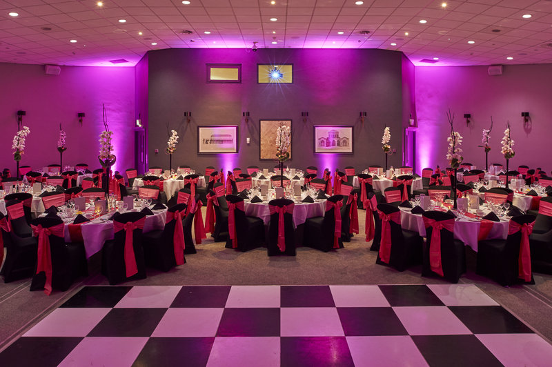 Principal York-Banquetings dinner for up to 220 guests in York<br/>Image from Leonardo