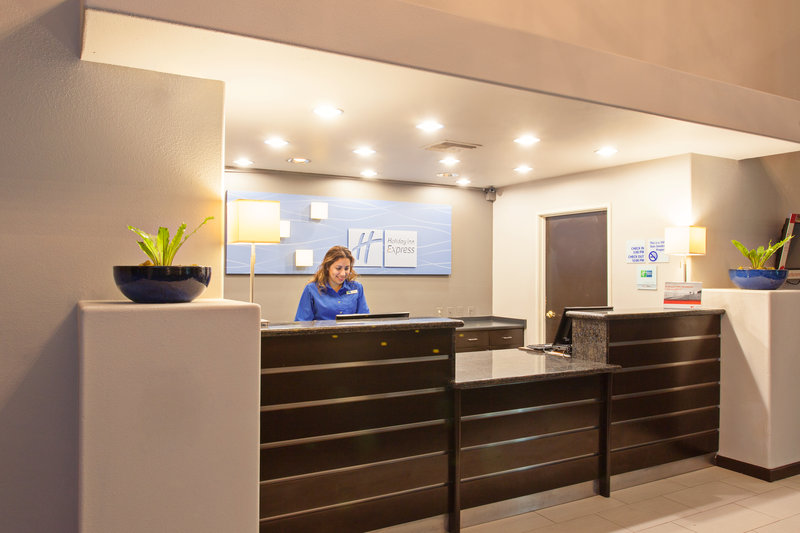 Holiday Inn Express Temecula-The sleek, welcoming Front Desk<br/>Image from Leonardo