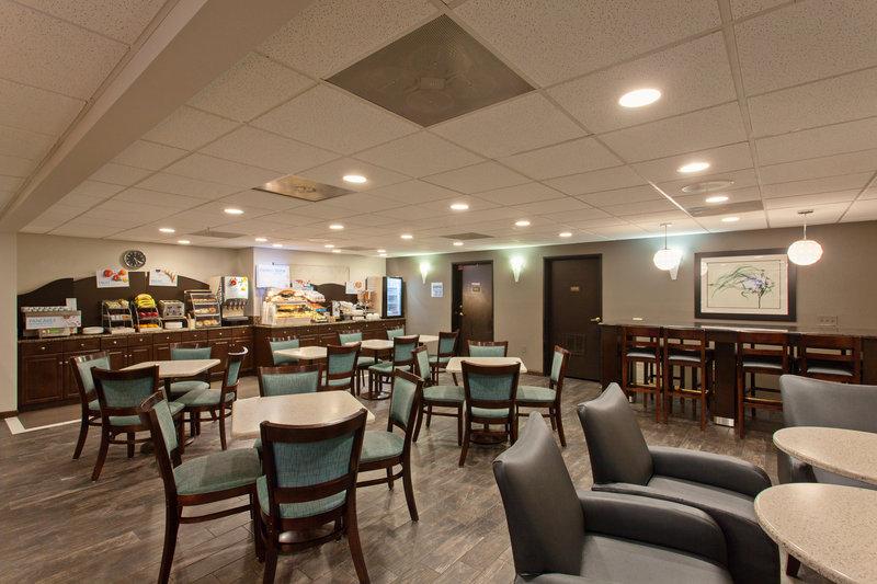 Holiday Inn Express Temecula-Breakfast Area and Lobby Lounge<br/>Image from Leonardo