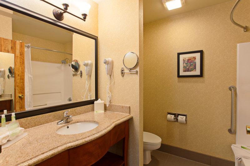 Holiday Inn Express Temecula-Standard Guest Bathroom<br/>Image from Leonardo