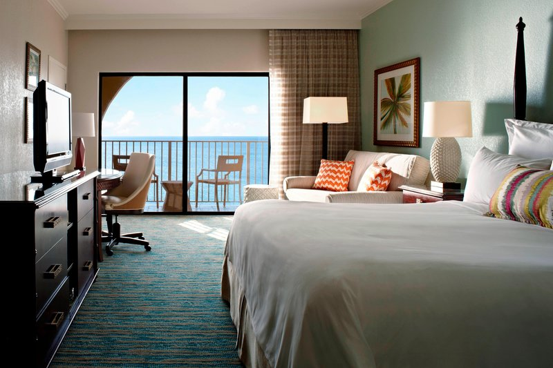 Marriott Grand Cayman-King Guest Room - Ocean Front View<br/>Image from Leonardo