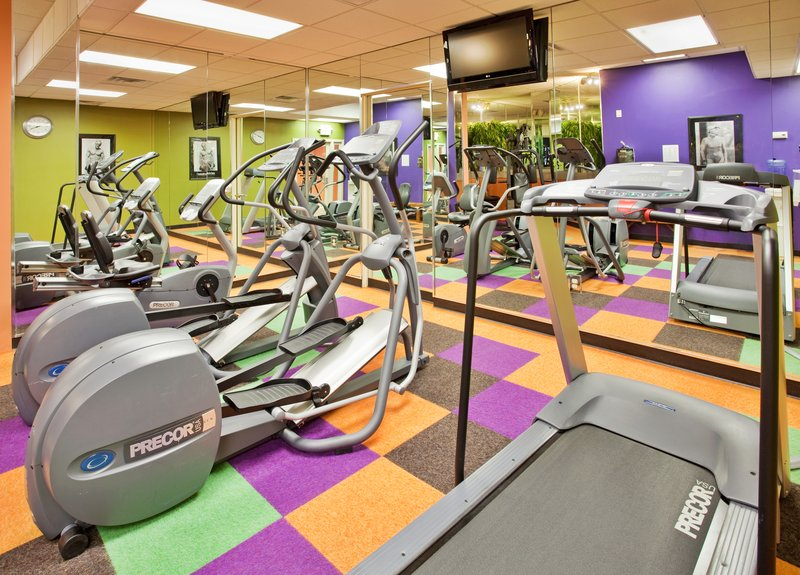 Holiday Inn Manhattan At The Campus-24 Hour Fitness Center with Precor Equipment<br/>Image from Leonardo