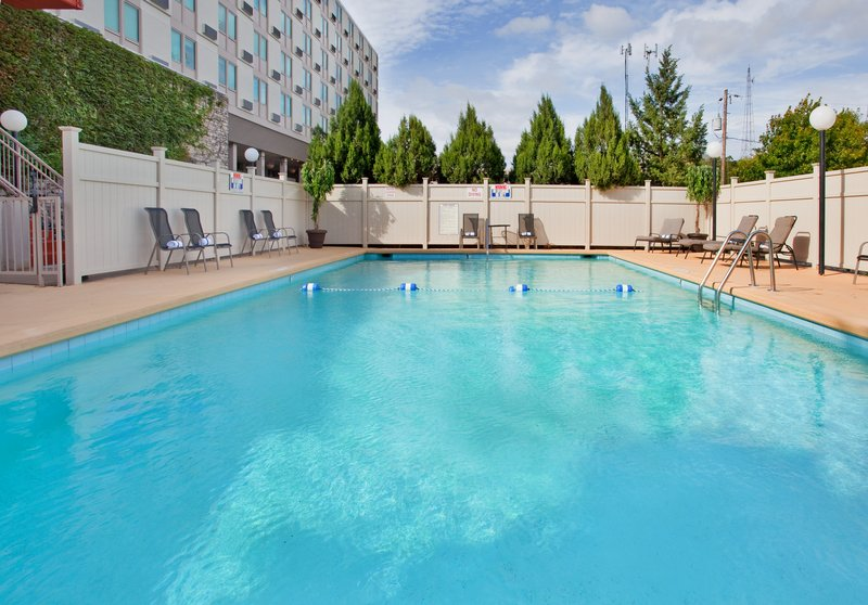 Holiday Inn Manhattan At The Campus-Swimming Pool at the Holiday Inn Manhattan At The Campus<br/>Image from Leonardo