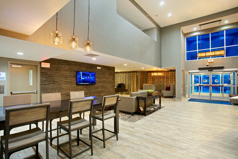 Holiday Inn Express and Suites-Hotel Lobby<br/>Image from Leonardo