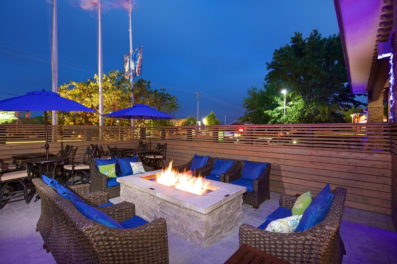 Holiday Inn Express and Suites-Guest Patio<br/>Image from Leonardo