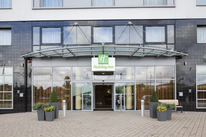 Holiday Inn Norwich City-Hotel Main Front Entrance<br/>Image from Leonardo