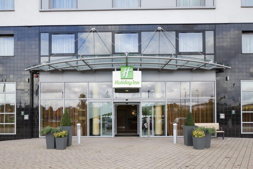 Holiday Inn Norwich City-Hotel Main Front Entrance<br/>Image from Leonardo