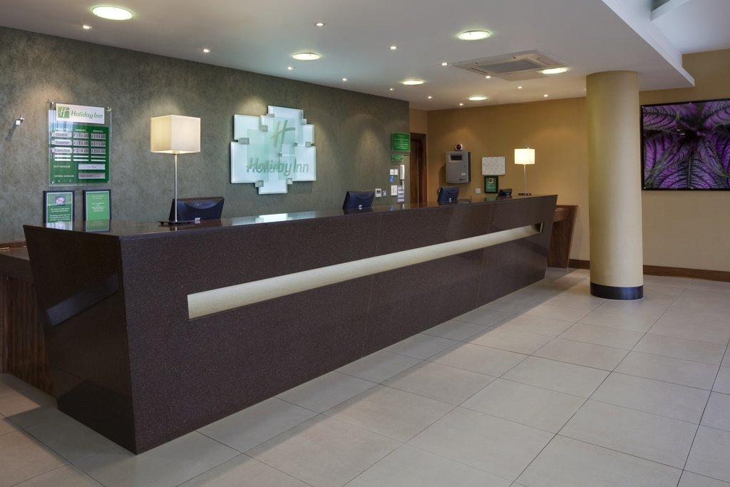 Holiday Inn Norwich City-Hotel Main Front Desk<br/>Image from Leonardo