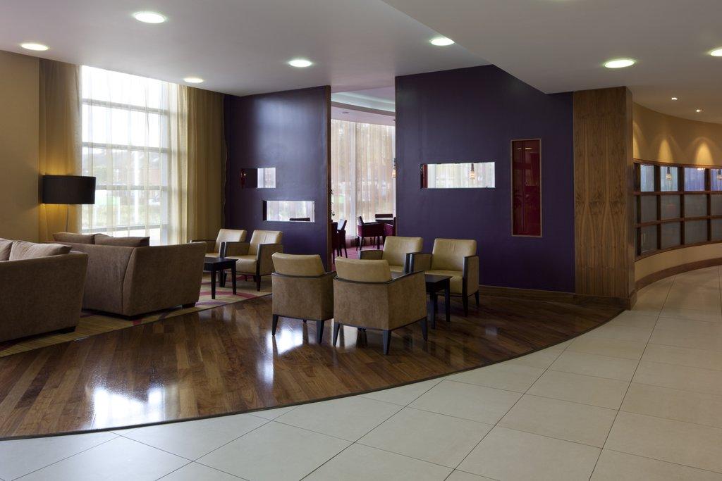 Holiday Inn Norwich City-Cosy Hotel Lobby at Holiday Inn<br/>Image from Leonardo