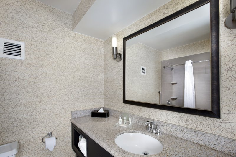 Holiday Inn Johnson City-Enjoy getting ready for the day in our guest bathrooms.<br/>Image from Leonardo
