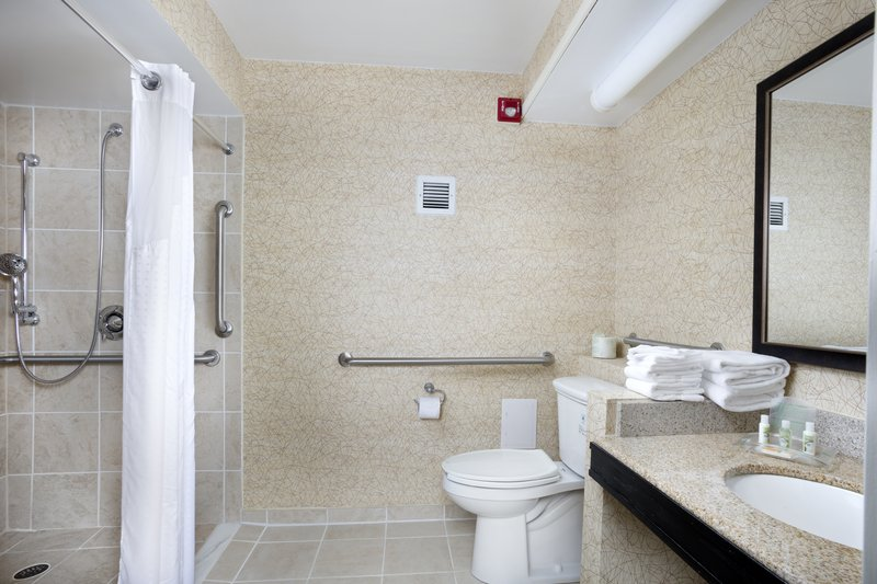 Holiday Inn Johnson City-We designed our ADA mobility accessible rooms for easy wheelchair <br/>Image from Leonardo