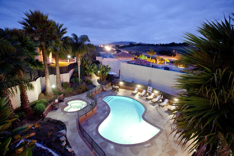 Holiday Inn Express grover Beach-Pismo Beach Area-Relax at our outdoor heated pool while visiting Pismo Beach<br/>Image from Leonardo