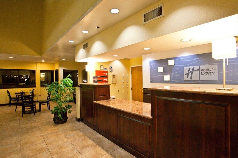 Holiday Inn Express grover Beach-Pismo Beach Area-Lobby Lounge<br/>Image from Leonardo