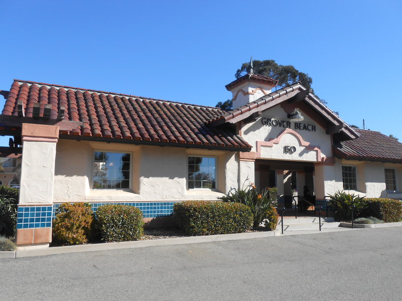 Holiday Inn Express grover Beach-Pismo Beach Area-Amtrak Station in Grover Beach conveniently located 2 miles away<br/>Image from Leonardo