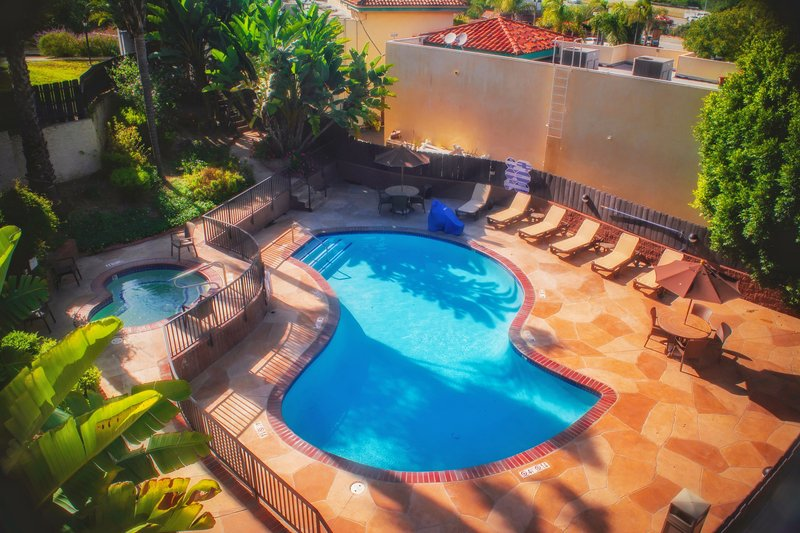 Holiday Inn Express grover Beach-Pismo Beach Area-Enjoy your day at our heated pool<br/>Image from Leonardo