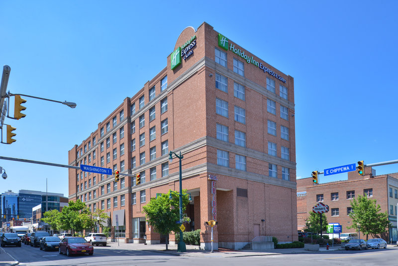 Holiday Inn Express & Suites Buffalo Downtown-Corner of Washington and Chippewa St in Theatre District<br/>Image from Leonardo