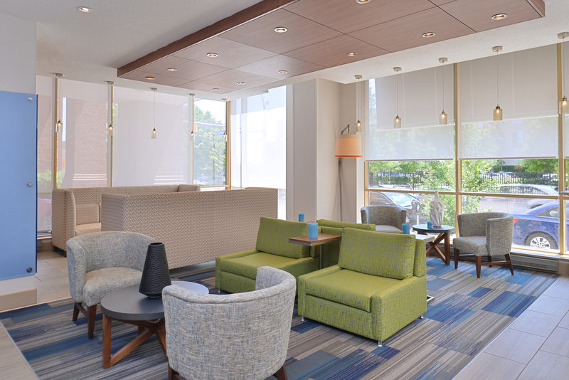 Holiday Inn Express & Suites Buffalo Downtown-Hotel Lobby<br/>Image from Leonardo
