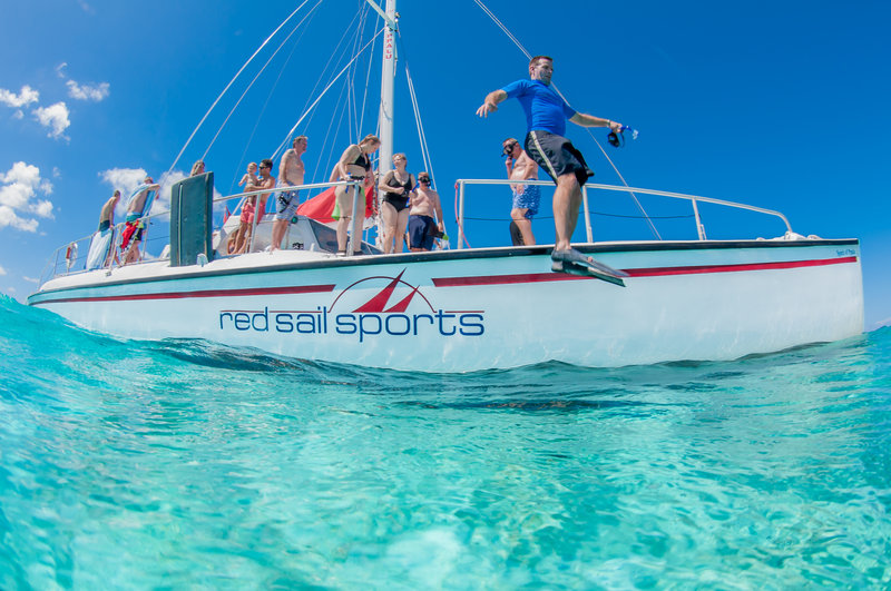 Holiday Inn Resort Grand Cayman-Red Sail Sports-  Stingray City Sandbar- Grand Cayman<br/>Image from Leonardo
