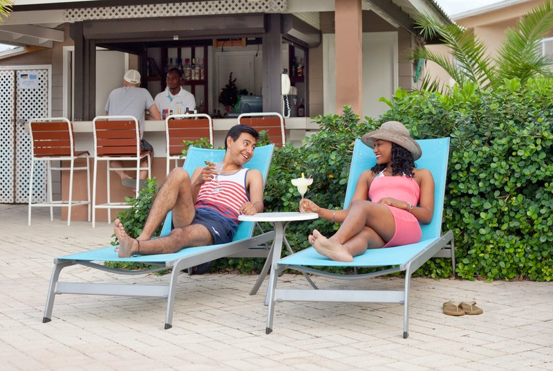 Holiday Inn Resort Grand Cayman-Poolside tiki bar at the Holiday Inn Resort<br/>Image from Leonardo