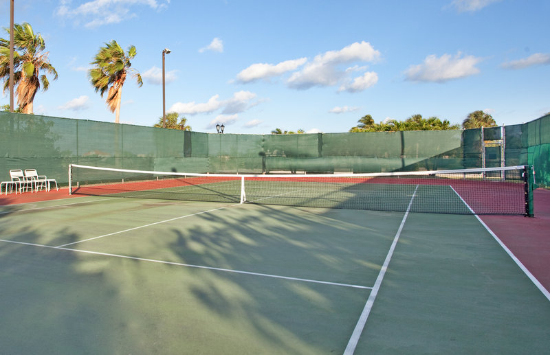 Holiday Inn Resort Grand Cayman-On site tennis court at the Holiday Inn Resort Cayman<br/>Image from Leonardo