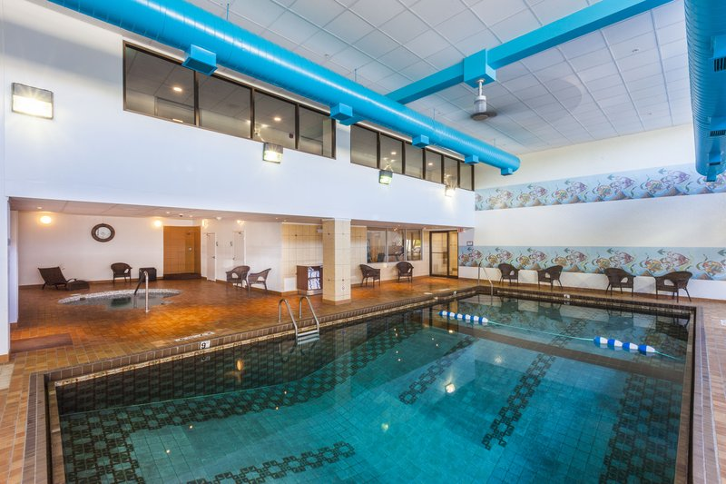 Holiday Inn Express &amp; Suites St. John Harbour Sde-Relax In Our Large Indoor Heated Swimming Pool and Hot Tub <br/>Image from Leonardo