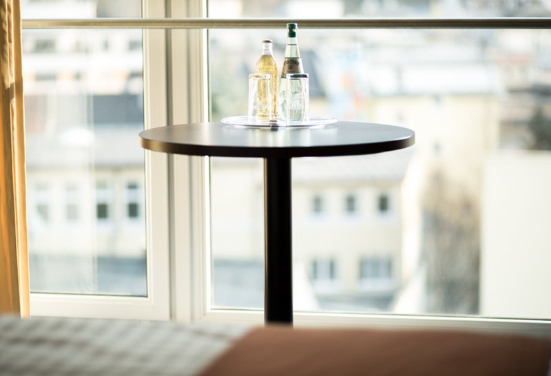 Holiday Inn Salzburg City-The original Almdudler herbal-lemonade in our Mountain View Rooms.<br/>Image from Leonardo