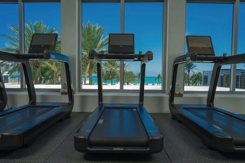 Eden Roc Miami Beach-Fitness Center Treadmill<br/>Image from Leonardo