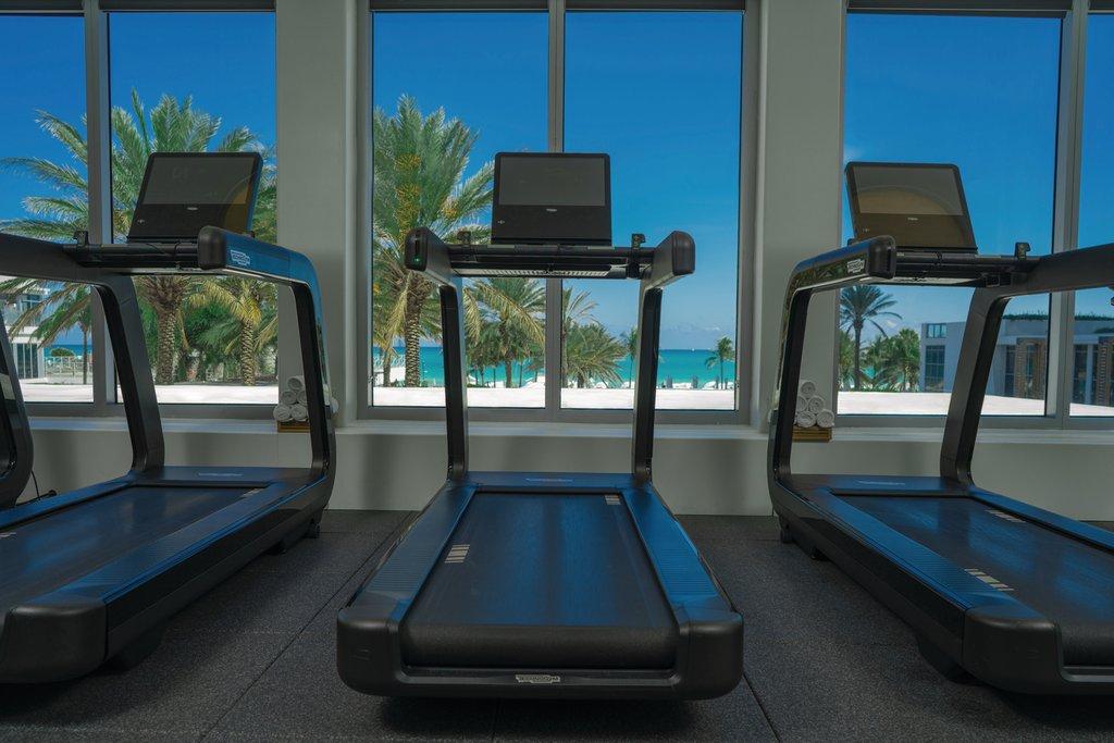 Eden Roc Miami Beach - Fitness Center Treadmill <br/>Image from Leonardo