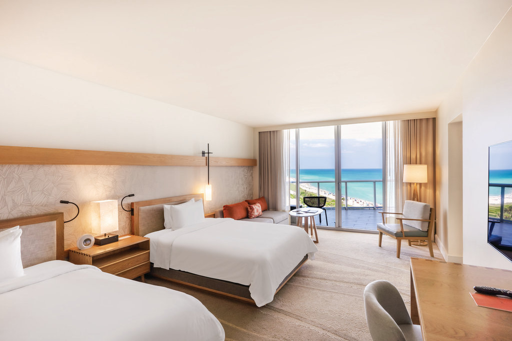 Eden Roc Miami Beach - Junior Suite Two Queen Beds <br/>Image from Leonardo