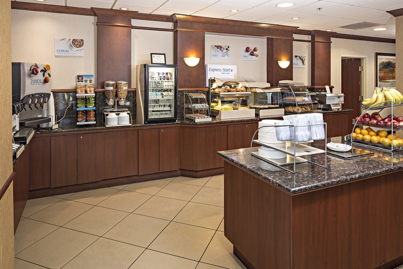 Holiday Inn Express & Suites Manchester Airport-Breakfast Area<br/>Image from Leonardo