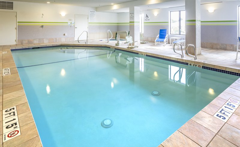 Holiday Inn Express & Suites Manchester Airport-Swimming Pool<br/>Image from Leonardo