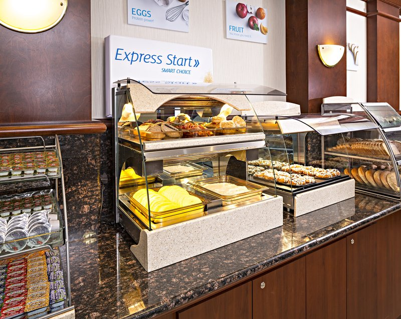 Holiday Inn Express & Suites Manchester Airport-Breakfast Bar<br/>Image from Leonardo