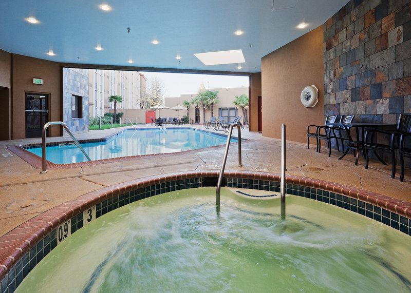 Crowne Plaza Sacramento Northeast-Pool and Spa Crowne Plaza Sacramento Hotel<br/>Image from Leonardo