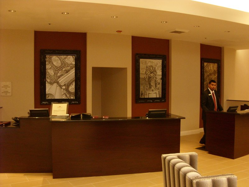 Crowne Plaza Sacramento Northeast-Lobby of the Crowne Plaza Sacramento Hotel<br/>Image from Leonardo