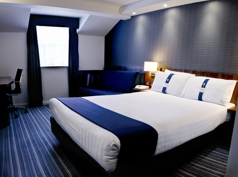 Holiday Inn Express York-Double Bed Guest Room With Sofa Bed<br/>Image from Leonardo