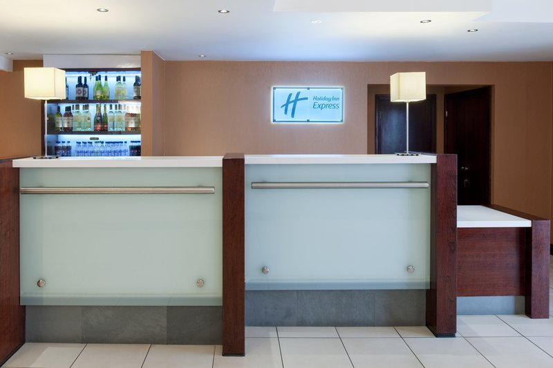 Holiday Inn Express York-Reception Desk is Open 24 Hours<br/>Image from Leonardo