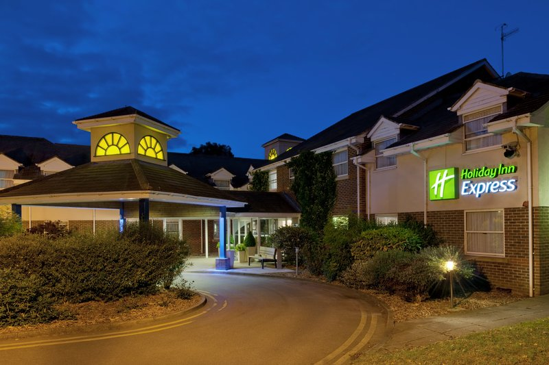 Holiday Inn Express York-Hotel Exterior Evening<br/>Image from Leonardo