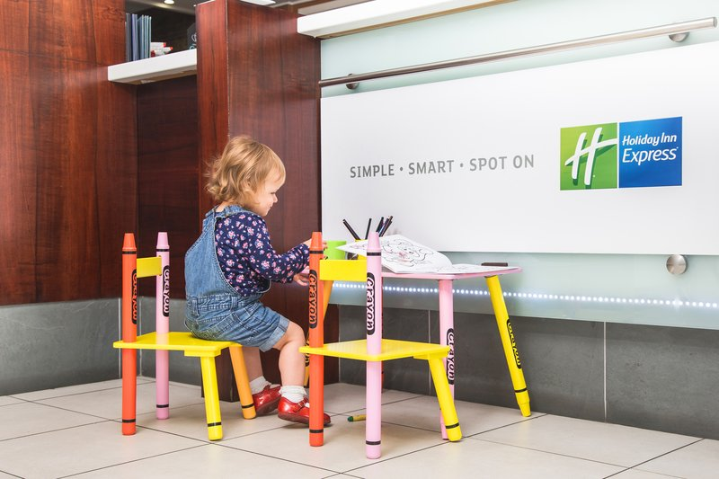 Holiday Inn Express York-Children at play<br/>Image from Leonardo
