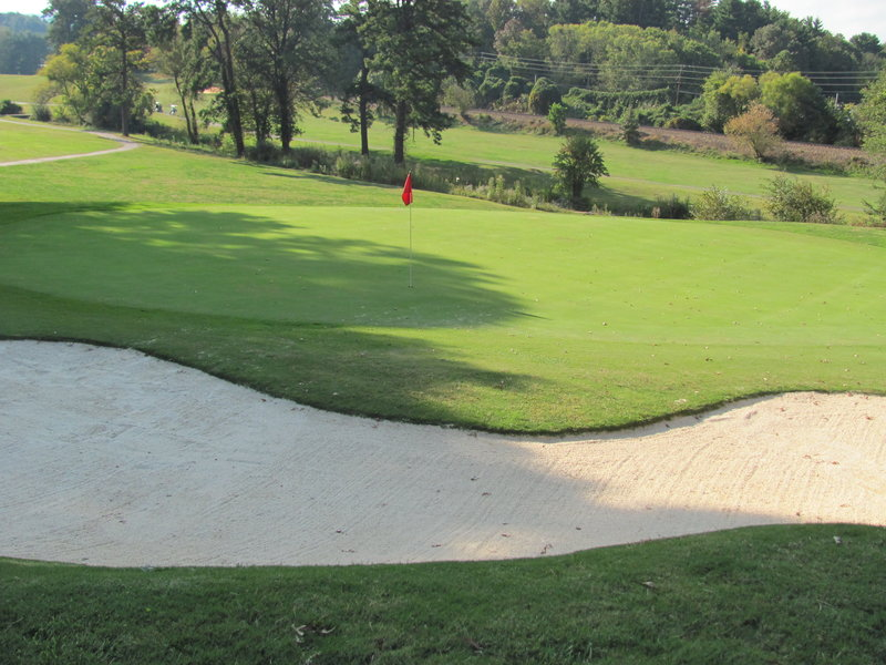 Crowne Plaza Resort Asheville-Stop by and play a few holes of golf at our scenic course.<br/>Image from Leonardo