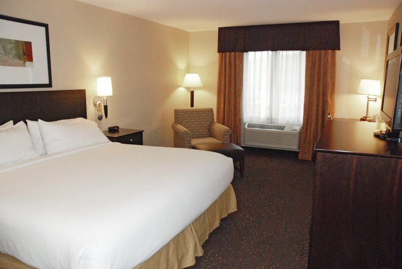 Holiday Inn Express & Suites Hill City Mt. Rushmore Area-King Size Bed Guest Room<br/>Image from Leonardo