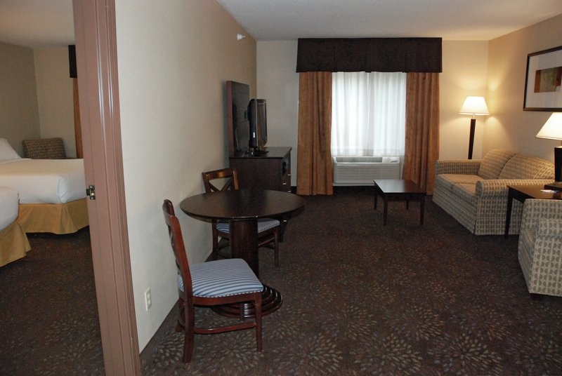 Holiday Inn Express & Suites Hill City Mt. Rushmore Area-Two Room Suite with Two Queen Size Beds and Queen Sofa Sleeper<br/>Image from Leonardo