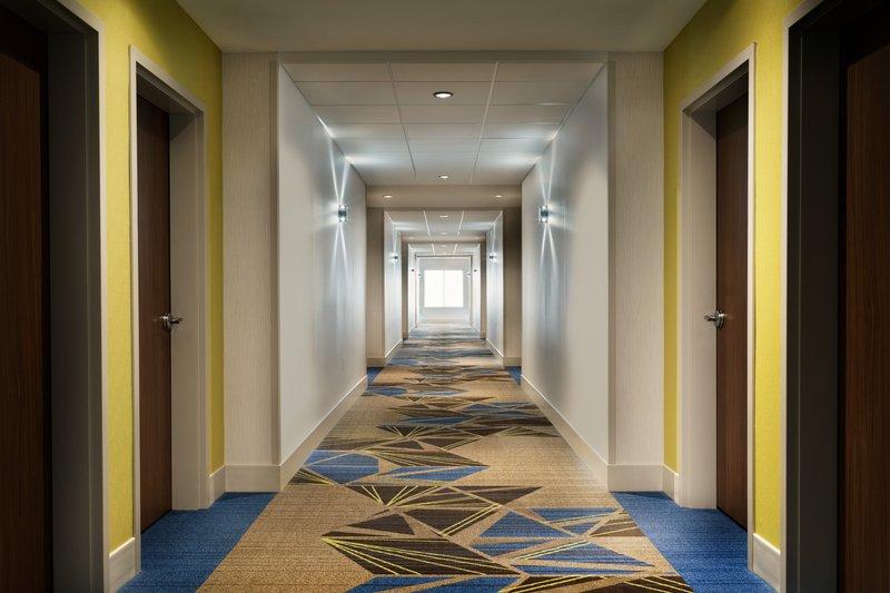Holiday Inn Express And Suites Savannah N Port Wentworth-Hallway<br/>Image from Leonardo