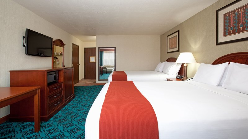 Holiday Inn Express Mesa Verde-Cortez-Two Double Bed Guest Room<br/>Image from Leonardo