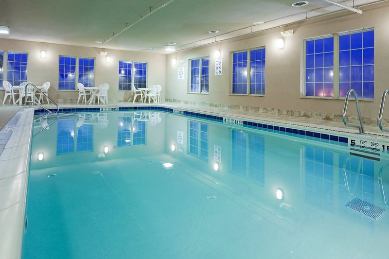 Holiday Inn Express Syracuse-Fairgrounds-Our indoor pool is open until 10:00 pm<br/>Image from Leonardo