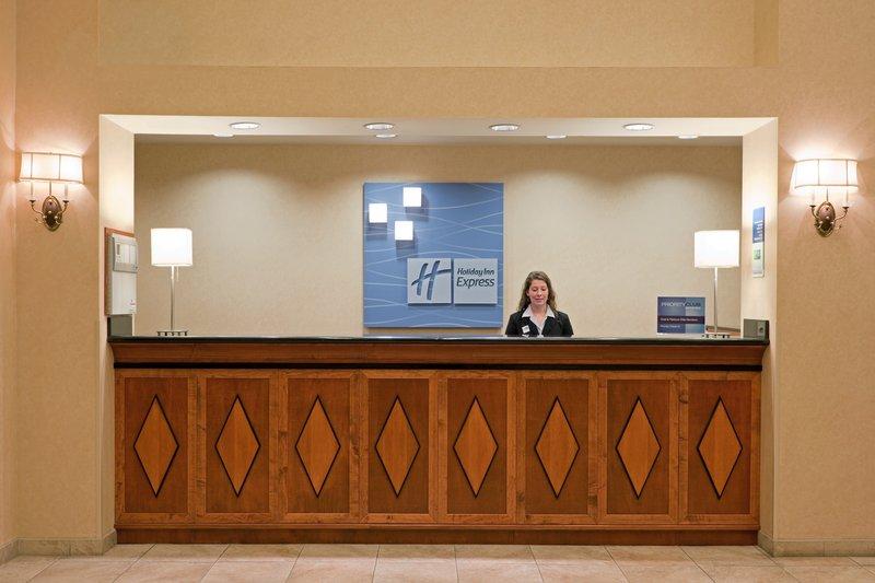 Holiday Inn Express Syracuse-Fairgrounds-Reception<br/>Image from Leonardo